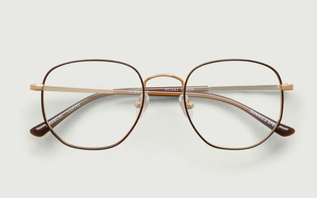 sunnies specs marcel eyeglass frames in coffee