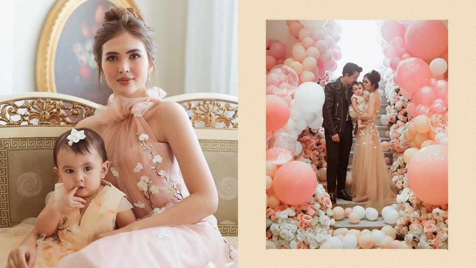 Sofia Andres' Daughter Zoe Just Turned One And They Wore Matching Floral Dresses