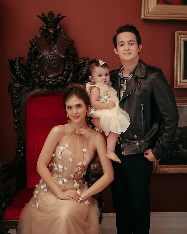 sofia andres zoe miranda first birthday matching gowns