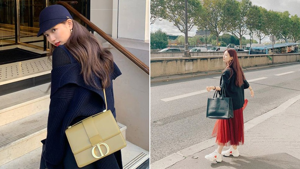 Bae Suzy's Personal Collection Of Dior Bags Will Make Your Jaw Drop