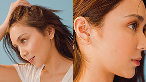 Here's The Real Reason Behind Kathryn Bernardo's New Ear Piercings