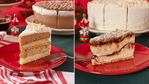 Starbucks' New Lineup Of Holiday Desserts Include A Coffee-flavored Cake And More