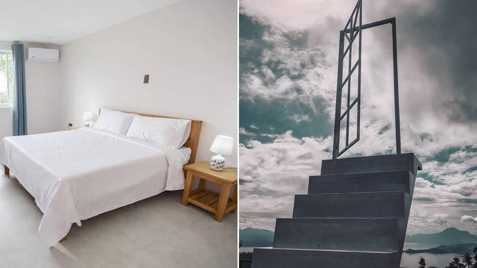 "This Minimalist Guesthouse In Tagaytay Has A ""stairway To Heaven"""