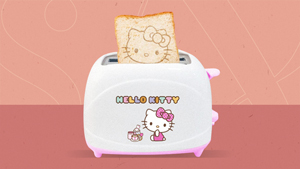 You Can Have Hello Kitty Breakfast With This Adorable Toaster For Less Than P2000