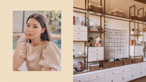 We're Absolutely In Love With Kryz Uy's Stylish Home Office