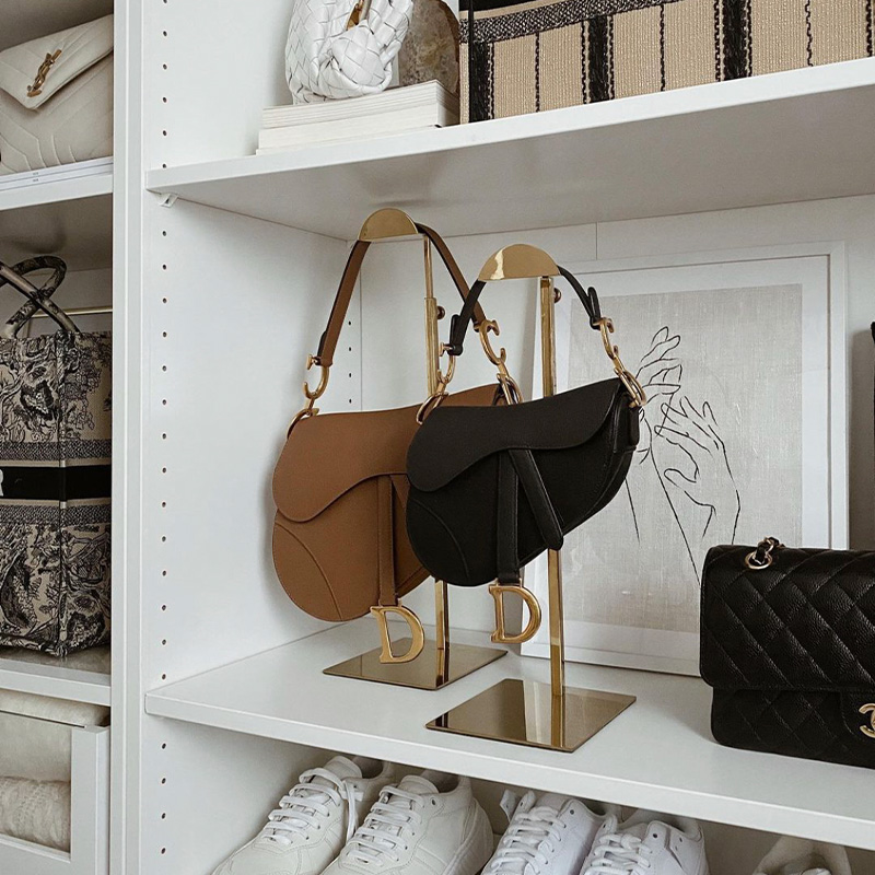 Dior saddle bag and Mini saddle bag