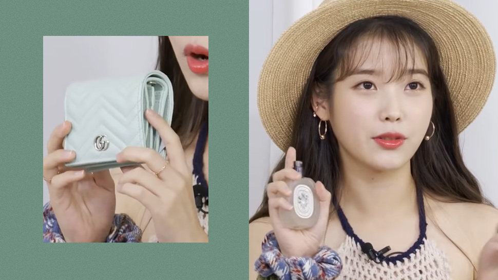 These Are the Essential Items IU Can't Leave Home Without