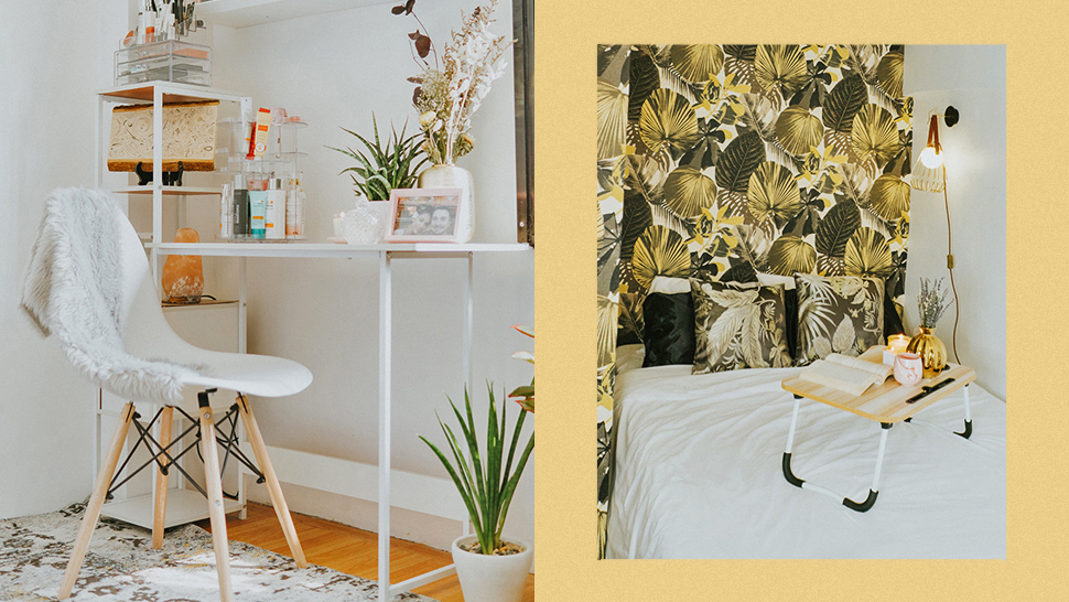 Here's How This Beauty Queen Gave Her Tiny Bedroom An Elegant Makeover