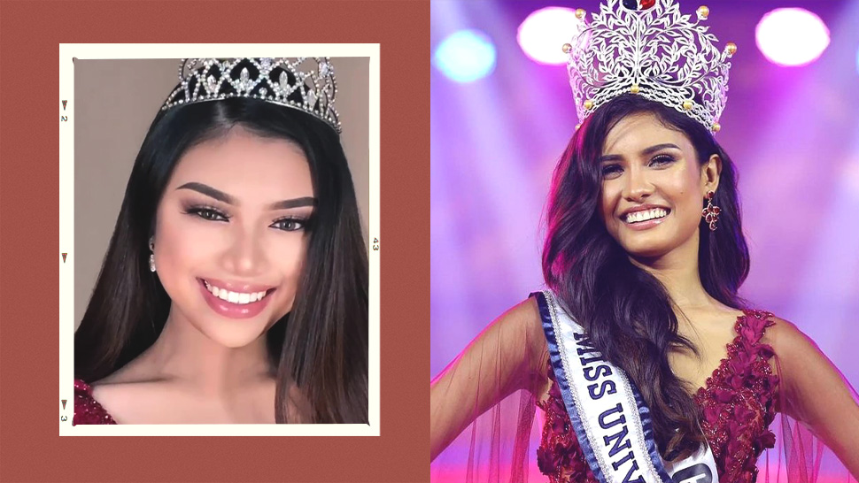 How This Pinay Recreated Rabiya Mateo's Winning Miss Universe Philippines Makeup Look