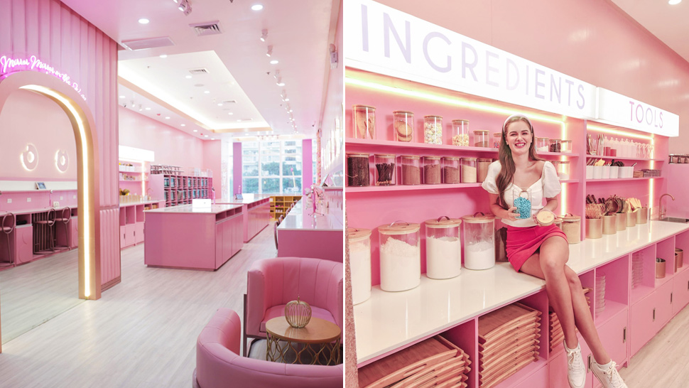This Pastel Pink Wonderland Is The Best Place To Learn How To Bake