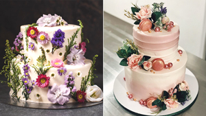 6 Simple Yet Stylish Wedding Cake Ideas You'll Love For Your Big Day