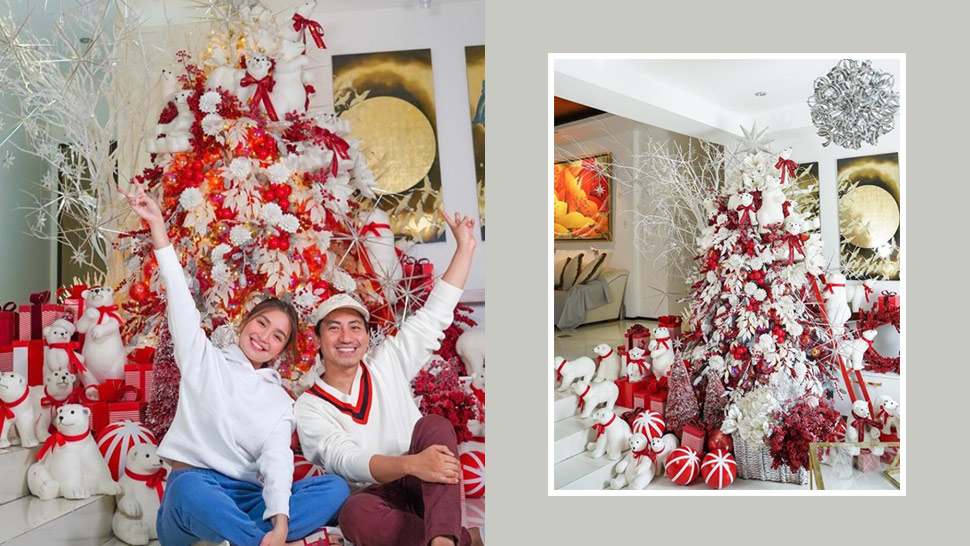 Kathryn Bernardo's Beautiful Christmas Tree At Home Took 2 Days To Complete