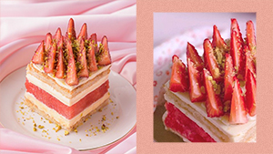 This Pink Instagrammable Cake Is A Light Alternative To Overly Rich Desserts