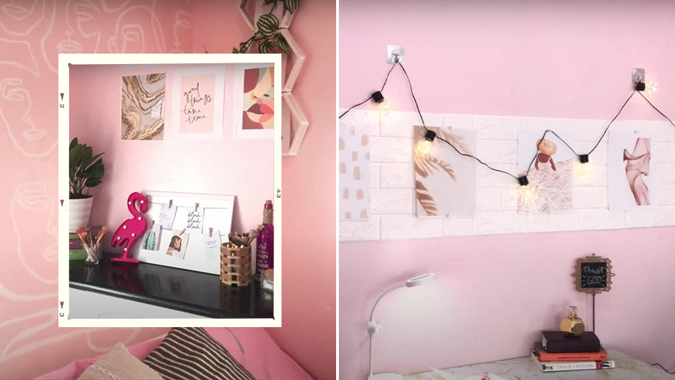 How This Pinay Transformed Her Room Into an All Pink Instagrammable Space