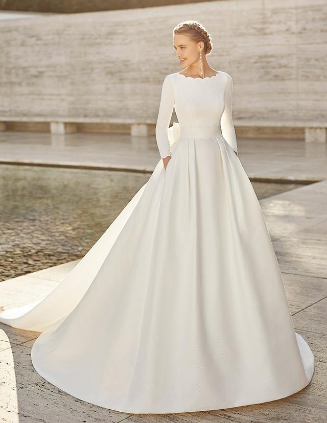wedding gown designs for plus size brides
