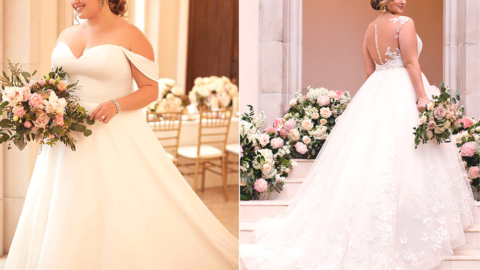 5 Wedding Gown Designs That Will Look Flattering On Plus-size Brides