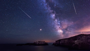 Heads Up! A Meteor Shower Will Light Up The Sky Tonight