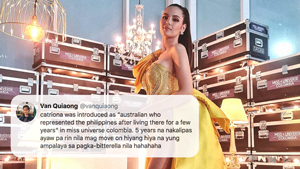 Here's Why Netizens Are Enraged Over Catriona Gray's Intro As Judge For Miss Universe Colombia