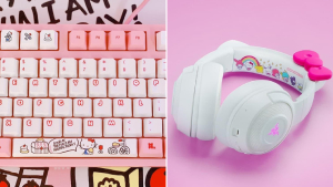 We Found Hello Kitty Keyboards And Headphones And They're So Kawaii
