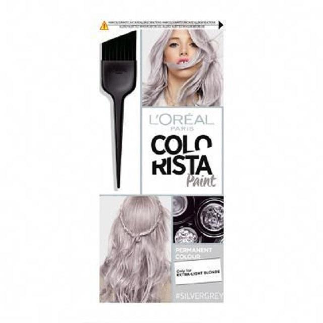hair color silver gray