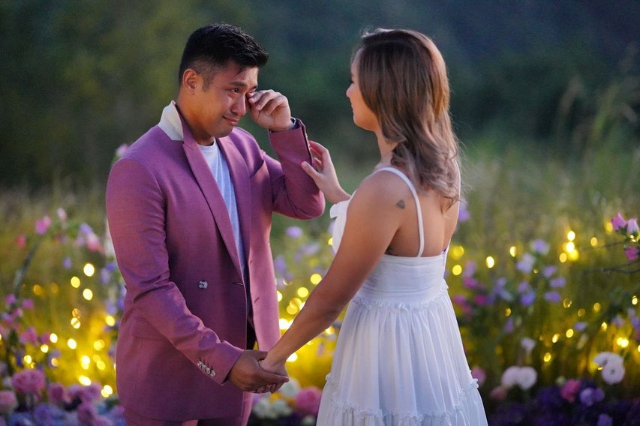 rocco nacino wedding proposal