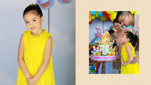 All The Details We Love About Zia Dantes' 5th Birthday Party