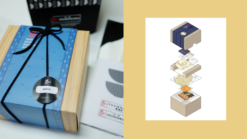 This Minimalist Box Is Actually A Ramen Kit
