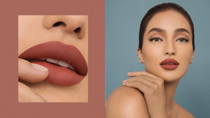 This Is The Exact Matte Lipstick Sarah Lahbati Has Been Wearing