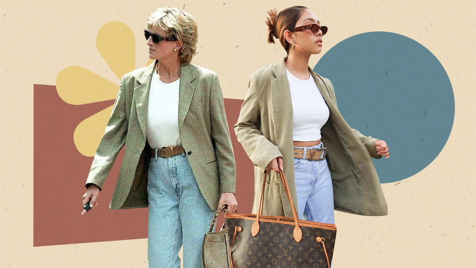 Princess Diana's Coolest Casual Outfits You Can Wear Now, According To Influencers