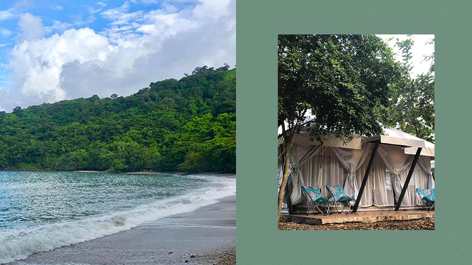 You Have to See This Glamping Spot That's in a Private Cove