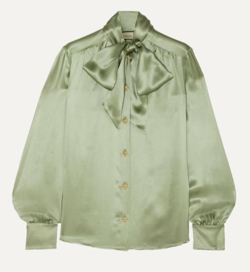 kate middleton gucci blouse