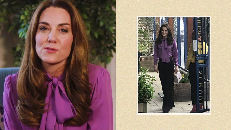 This Is The Exact Gucci Top That Kate Middleton Keeps Wearing Backwards