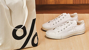 % Arabica's Merch Includes Chic Minimalist White Sneakers And Bags