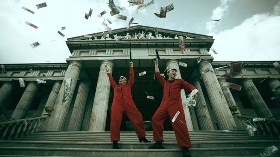 Meet The Couple Behind This Cool Money Heist Themed Prenup Shoot