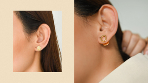 These Delicate Diamond-and-gold Earrings Make Great Investment Pieces