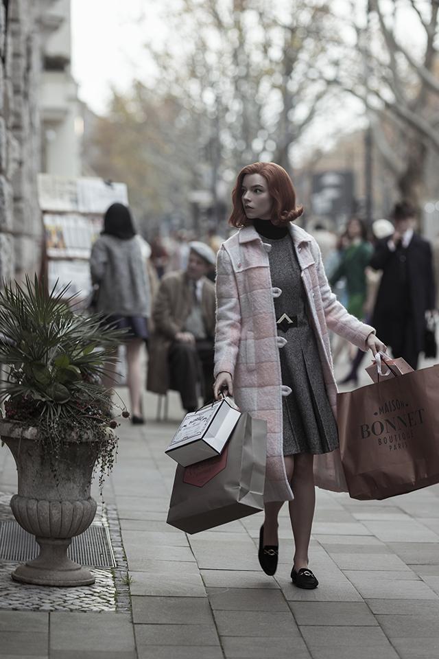 anya taylor-joy owns beth harmon's wardrobe queen's gambit netflix