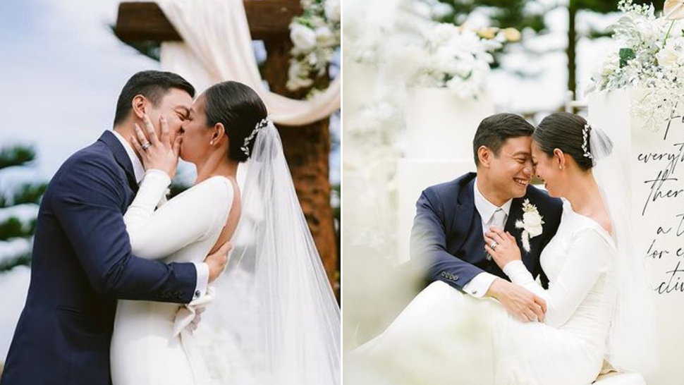 We're Totally In Love With Bettina Carlos' Minimalist Bridal Look