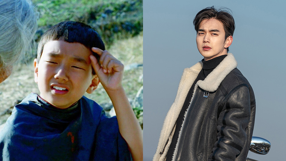 yoo seung ho k-drama child actor leading man