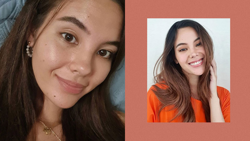 Catriona Gray Says She's Fine With Having Breakouts, Oiliness, Fine Lines, More In This No Makeup Selfie