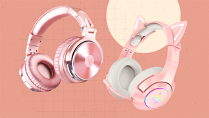 We Found The Cutest Pink Headphones You Can Shop Online