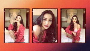 We Can't Get Over Kris Bernal's Red Lounge Suit At The Preview House Party