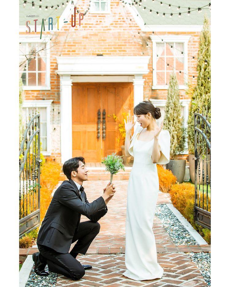 bae suzy safiyaa wedding gown in k-drama start-up