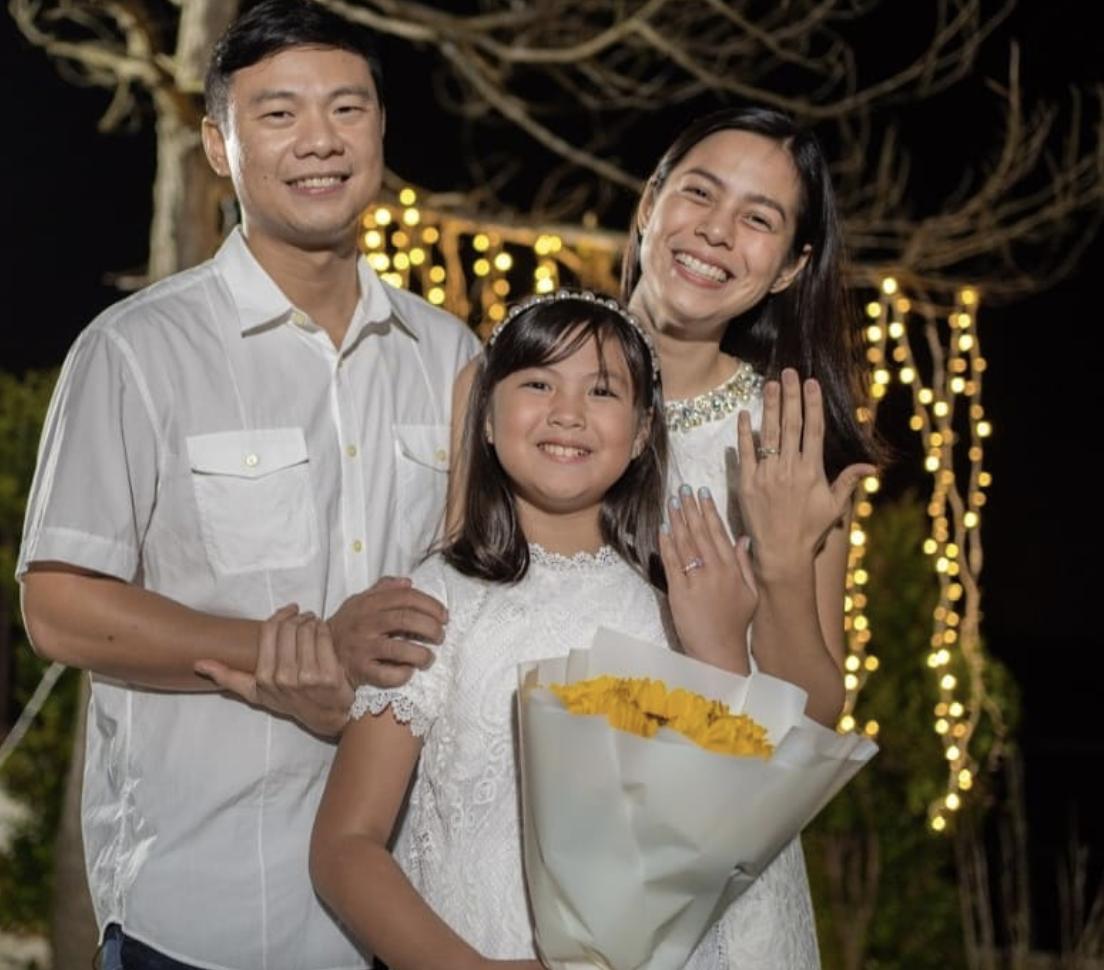 bettina carlos husband mikki eduardo proposed to her daughter