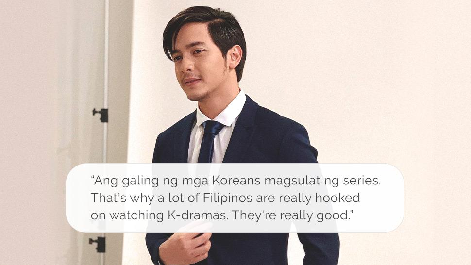 """Alden Richards on K-Dramas: """"Ang Galing ng mga Koreans Magsulat ng Series"""""""
