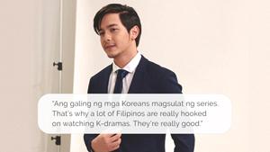 """Alden Richards On K-dramas: """"ang Galing Ng Mga Koreans Magsulat Ng Series"""