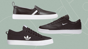 10 Minimalist Black Sneakers That Can Match All Your Outfits