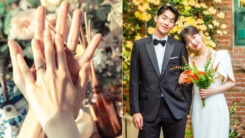The Exact Wedding Rings Bae Suzy And Nam Joo Hyuk Wore In