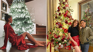 Here's How The Celebrities Have Decorated Their Christmas Trees So Far