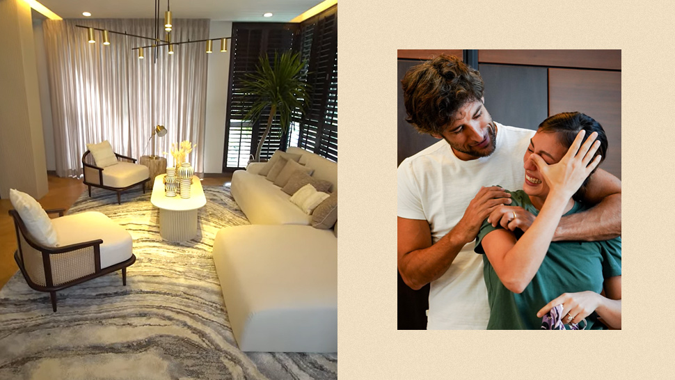 Here's Why Solenn Heussaff Couldn't Hold Back Tears After Seeing Her New Living Room