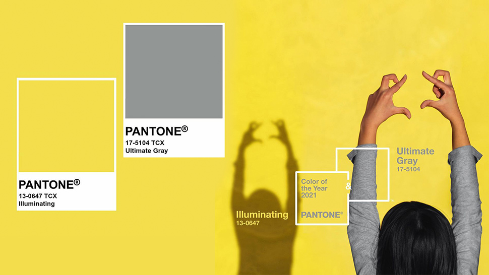 """Pantone Announces """"Ultimate Gray"""" and """"Illuminating"""" as the Colors of the Year for 2021"""